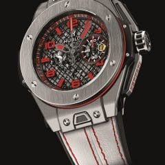 Grand Prix F1 du Japon 2016 : Hublot dévoile la Big Bang Ferrari Giappone 50 Limited Edition