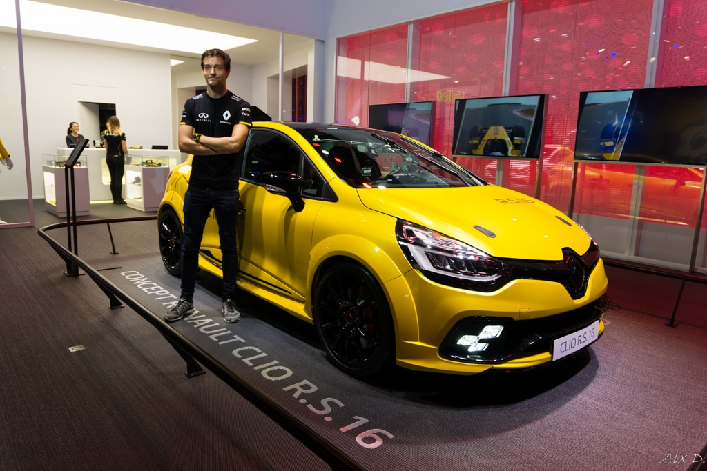 mondial de l 39 automobile paris 2016 rencontre avec renault sport automotiv press. Black Bedroom Furniture Sets. Home Design Ideas
