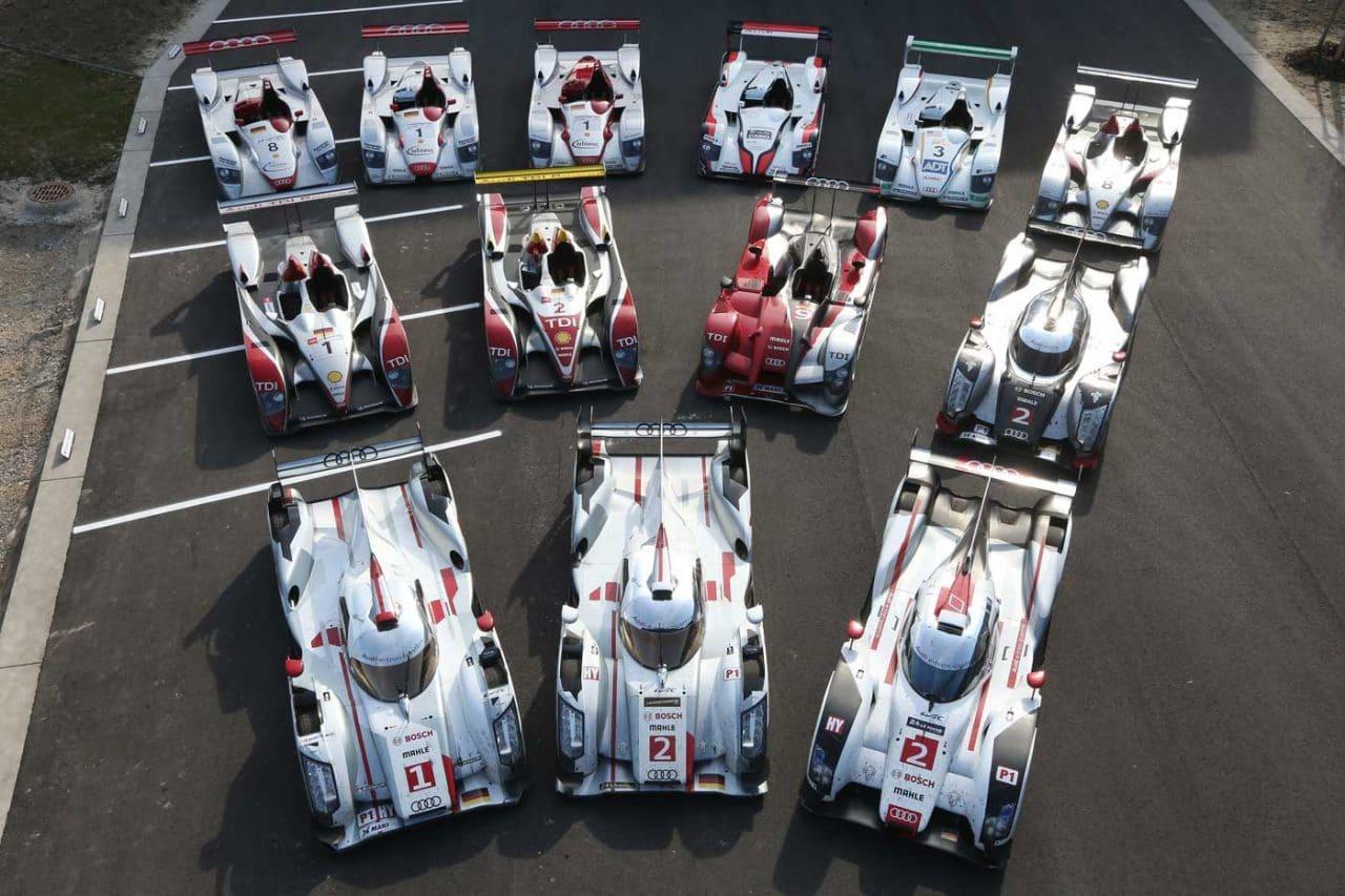 Audi Sport R8, R10 TDi, R15 TDi, R18 TDi, R18 e-Tron TDi