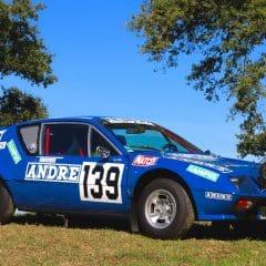 L'unique Alpine du Rallye Paris-Dakar vendue aux enchères