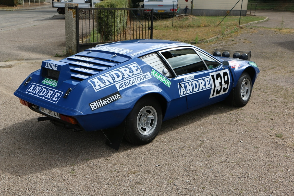 Alpine A310 1600 VE 1972 Paris Dakar 1981