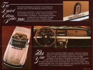 Fiat 124 Spider America