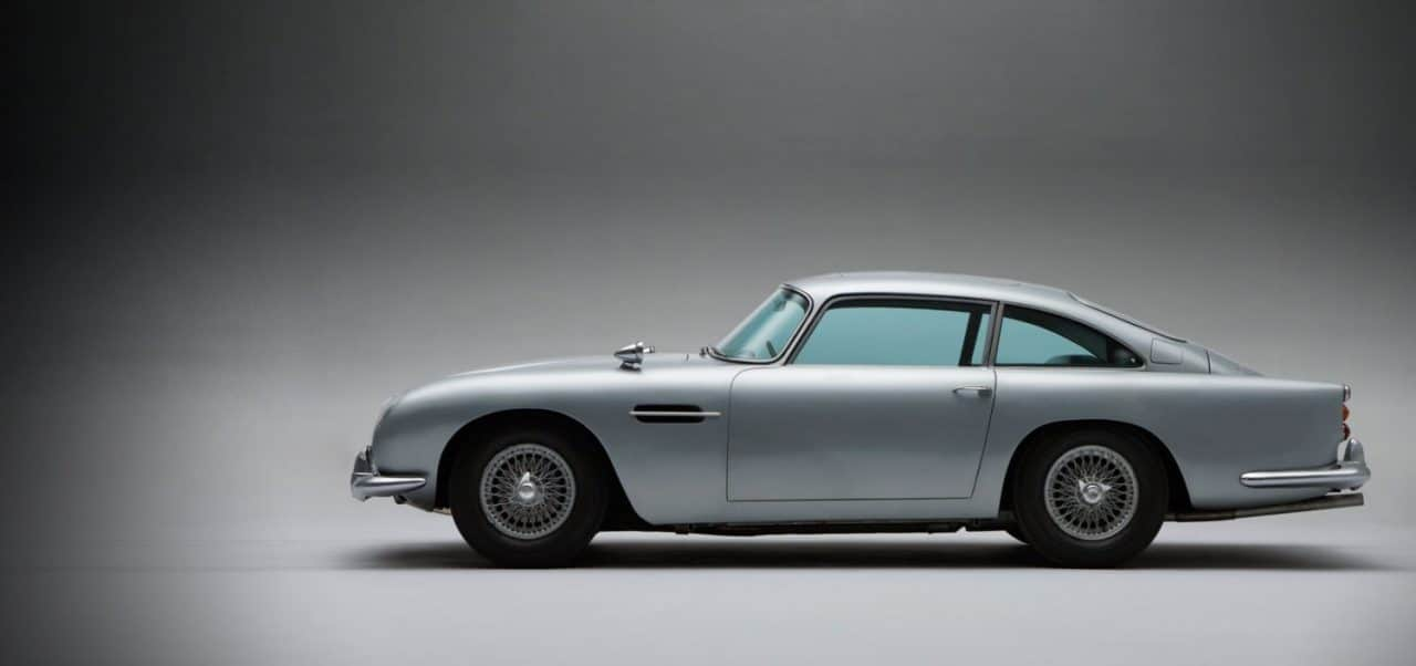 Aston Martin DB5 - James Bond - Goldfinger