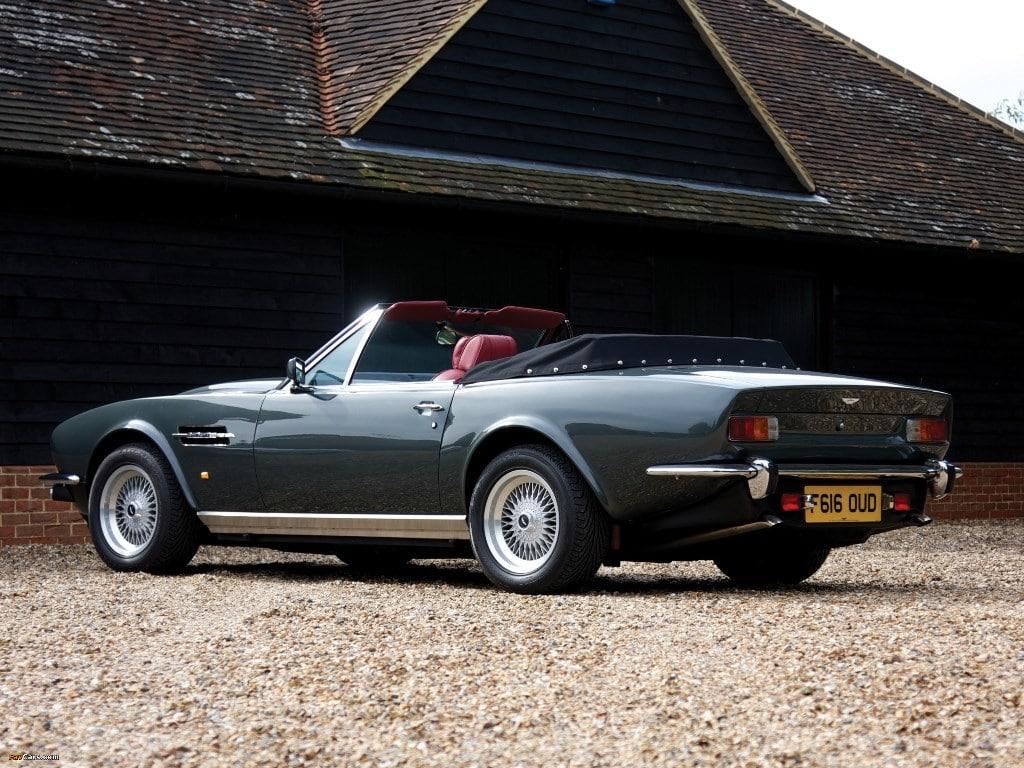Aston Martin AMV8 Vantage Volante