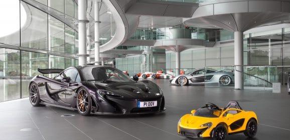 Exclu : La nouvelle McLaren P1 EV est 100% électrique !