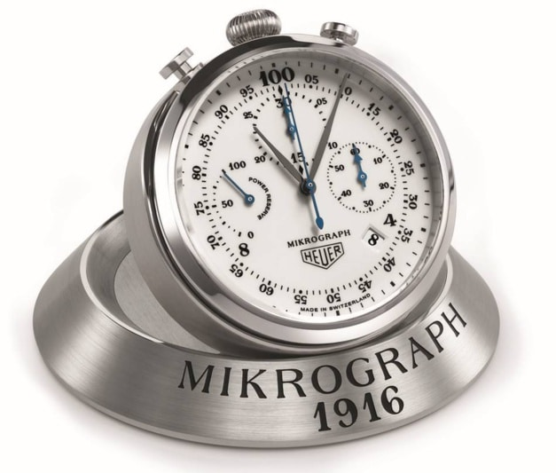 "TAG Heuer Carrera Mikrograph ""1/100th 1916-2016 Anniversary Edition"""