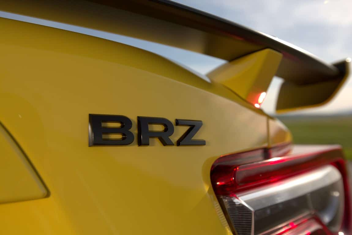Subaru BRZ Yellow Edition