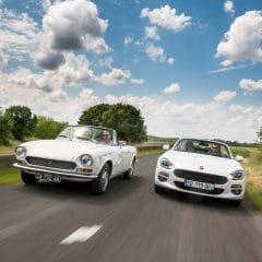 Fiat fête les 50 ans du 124 Spider en vidéo