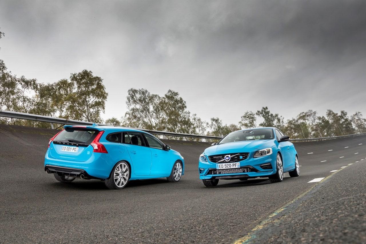 Volvo S60 et V60 Polestar