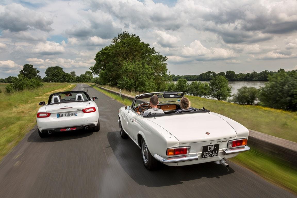 Fiat fête les 50 ans du 124 Spider