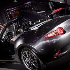 Mazda présente la MX-5 RF à Paris