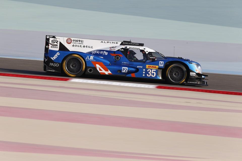 FIA WEC 6 heures de Bahreïn, LMP2 : Alpine