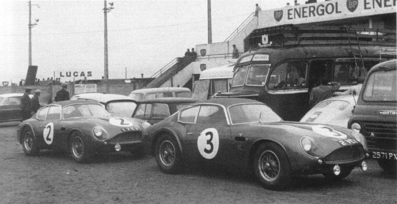 Aston Martin DB4 GT Zagato 1 & 2 VEV 1961