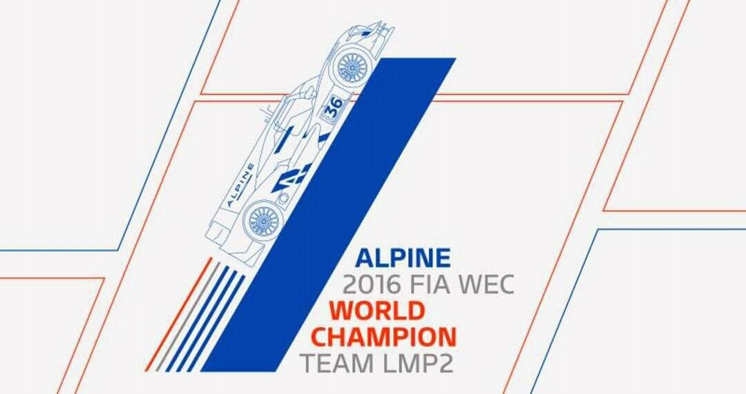 FIA WEC LMP2 - Alpine A460 - Champion du Monde 2016