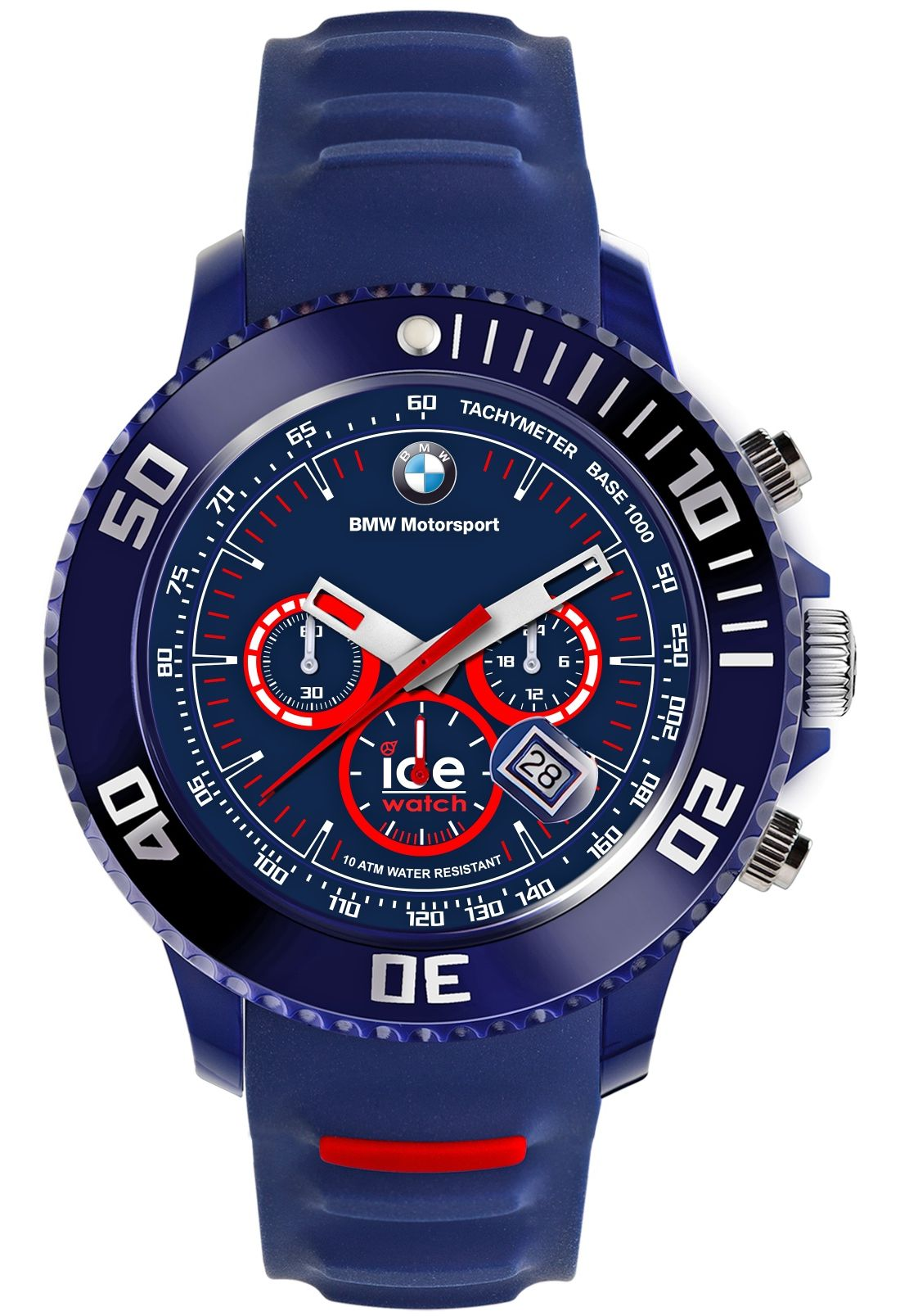 ICE WATCH BMW Motorsport silicone Dark Blue & Red