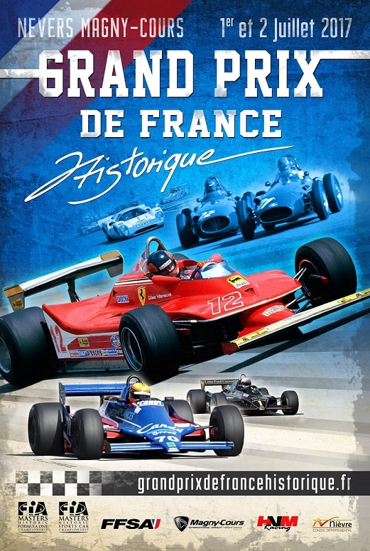 grand prix de france historique magny cours les 1er et 2 juillet 2017 automotiv press. Black Bedroom Furniture Sets. Home Design Ideas