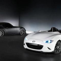 Mazda MX-5 Speedster Evolution et MX-5 RF Kuro au SEMA Show 2016