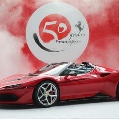Ferrari J50 : Les photos officielles