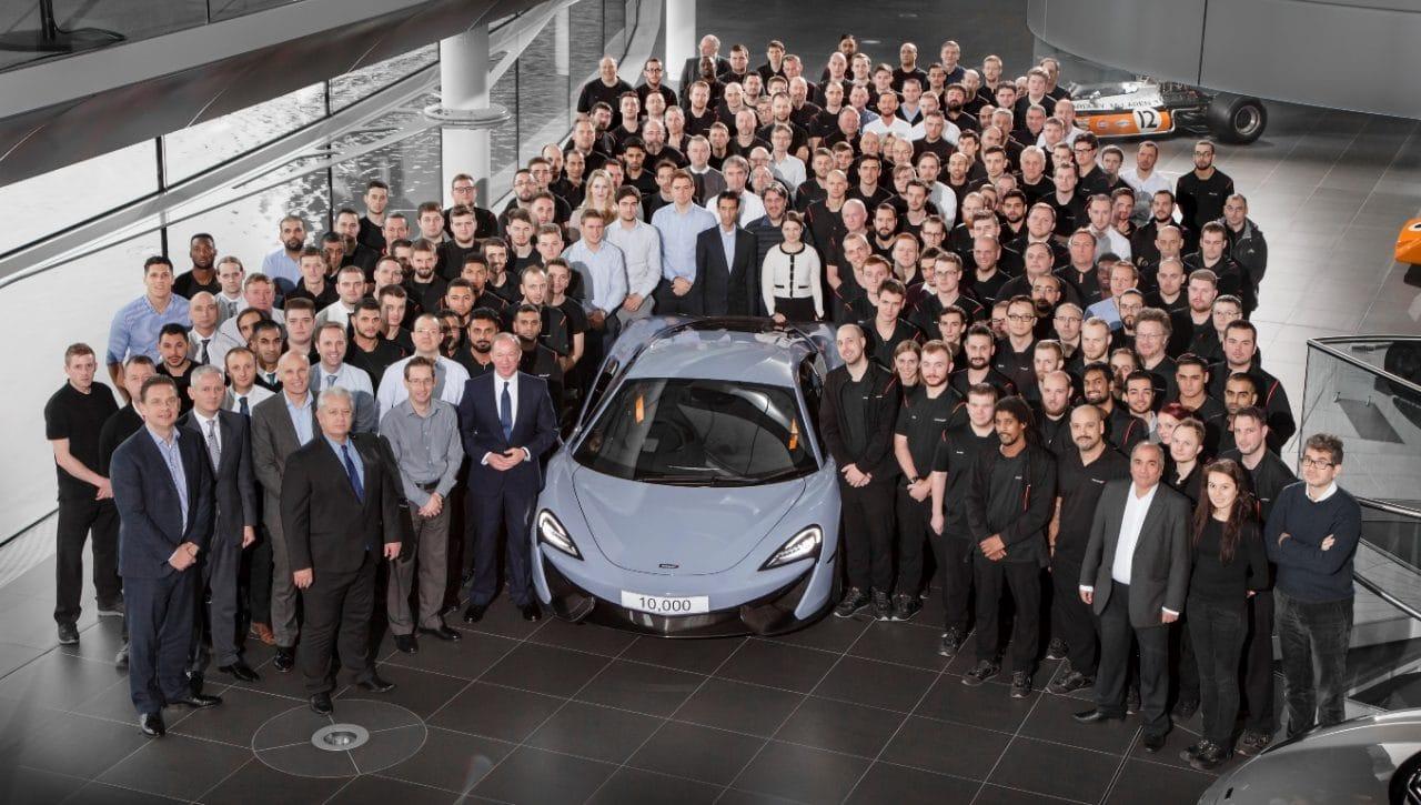 McLaren 570S MSO - 10000ème McLaren (2012-2016)