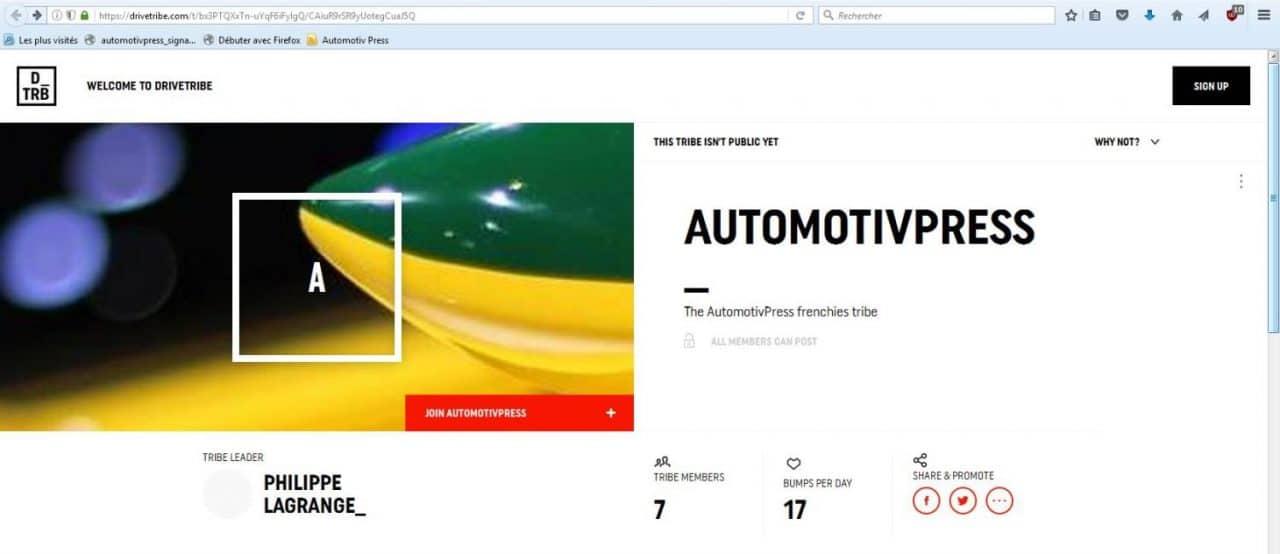 AutomotivPress - Drive Tribe