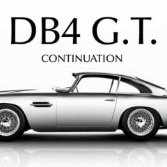 Aston Martin lance la production de 25 DB4 GT !
