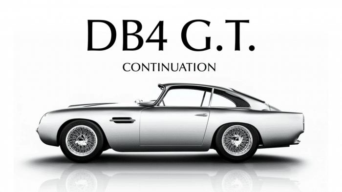 "Aston Martin DB4 GT ""Continuation"""