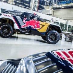 Le Peugeot 3008 DKR prêt pour le départ du Dakar 2017