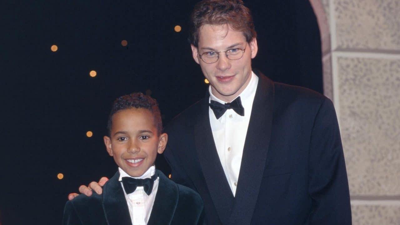 Lewis Hamilton (Champion karting 1995) & Jacques Villeneuve (IndyCar 1995)
