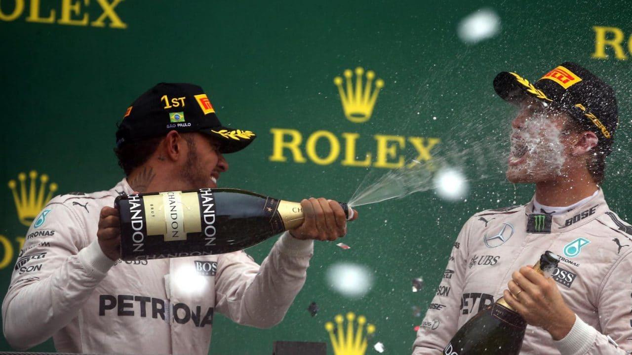 Formule 1 2016 - Nico Rosberg & Lewis Hamilton