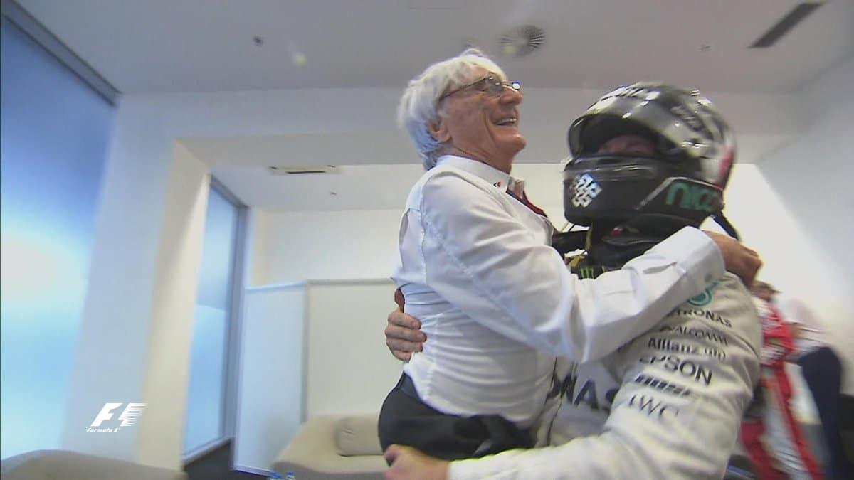 Formule 1 2016 - Nico Rosberg & Bernie Ecclestone