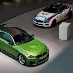Le double champion de DTM Marco Wittmann reçoit sa nouvelle BMW M4 de fonction…