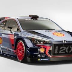 Hyundai Motorsport dévoile l'i20 Coupé WRC du Championnat du Monde des Rallyes 2017