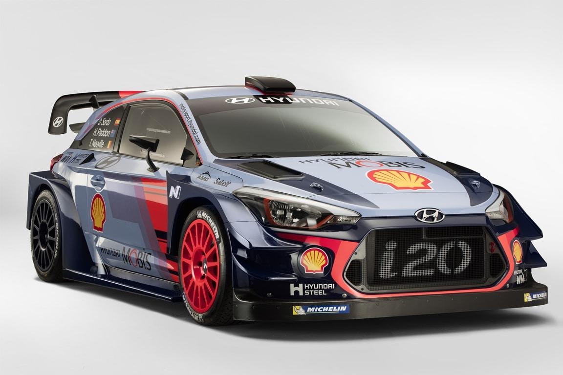 Hyundai i20 Coupé WRC 2017