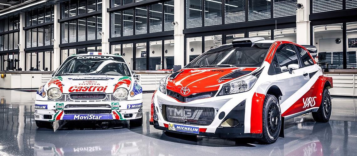 Toyota Corolla WRC (E110) & Toyota Yaris WRC 2015