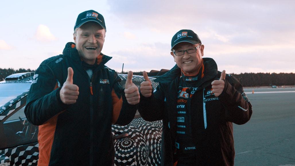 Tommi Mäkinen & Akio Toyoda