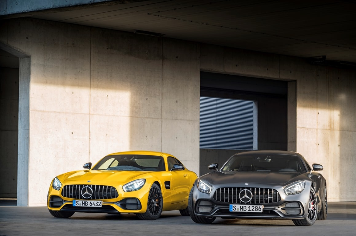 Mercedes-AMG GT C et GT-S 2017