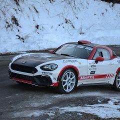 L'Abarth 124 Rallye dans les starting-blocks pour le Monte Carlo 2017
