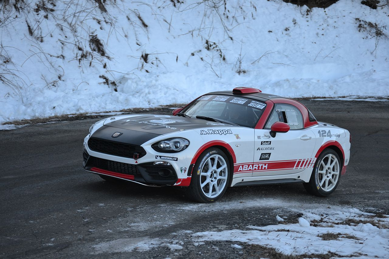 Abarth 124 Rally R-GT 2017