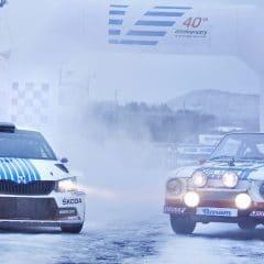 Skoda fête les 40 ans de sa victoire au Rallye de Monte-Carlo