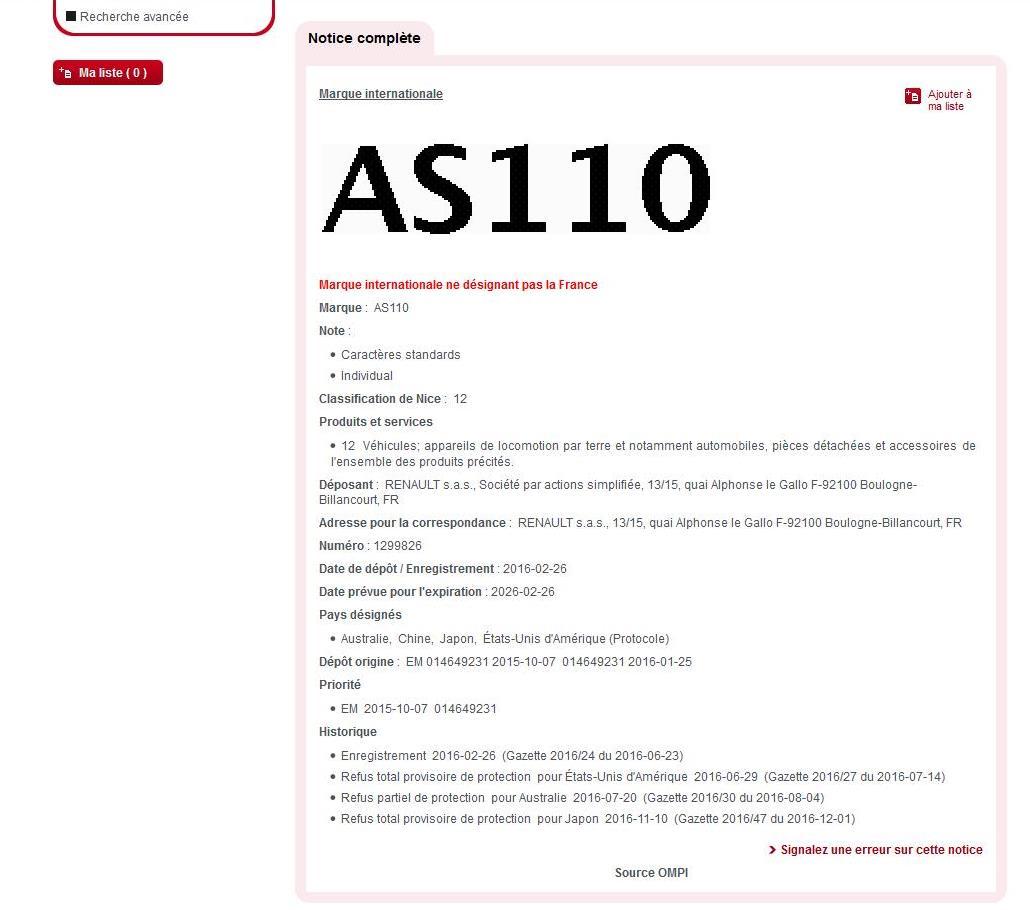 Alpine AS110