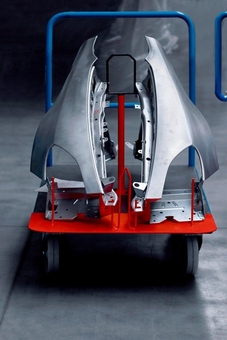 Alpine AS110 - châssis aluminium