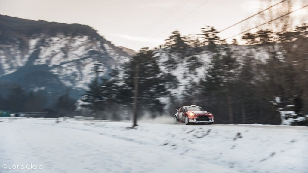 Rallye de Monte Carlo WRC - ES9 - Joris Clerc