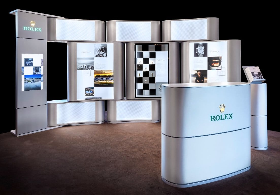 Exposition Rolex Daytona