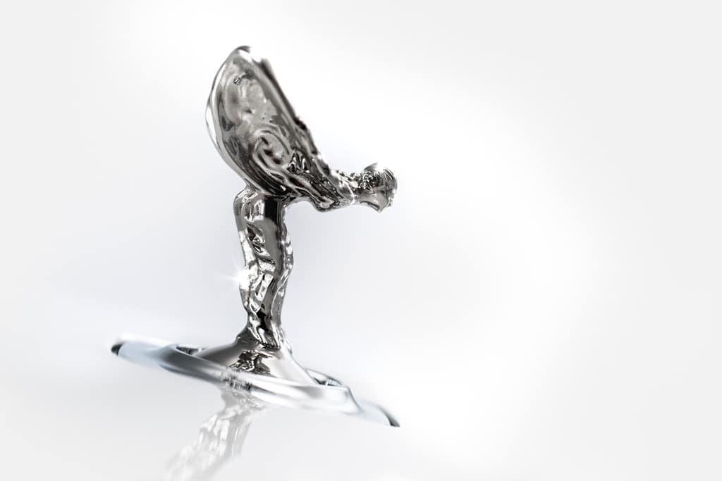 """The Flying Lady"" Rolls Royce"