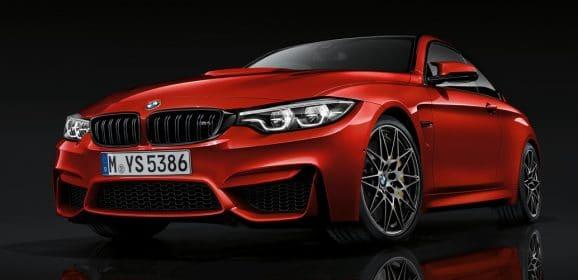 Retouches cosmétiques pour la BMW M4