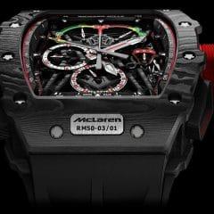 Richard Mille RM 50-03 McLaren F1 : Une Formule 1 ultralight au poignet