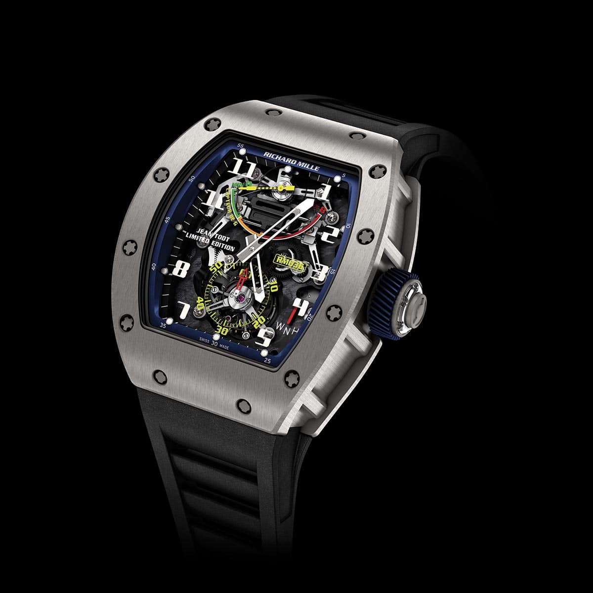 Richard Mille RM 036 Tourbillon Capteur de G Jean Todt Limited Edition