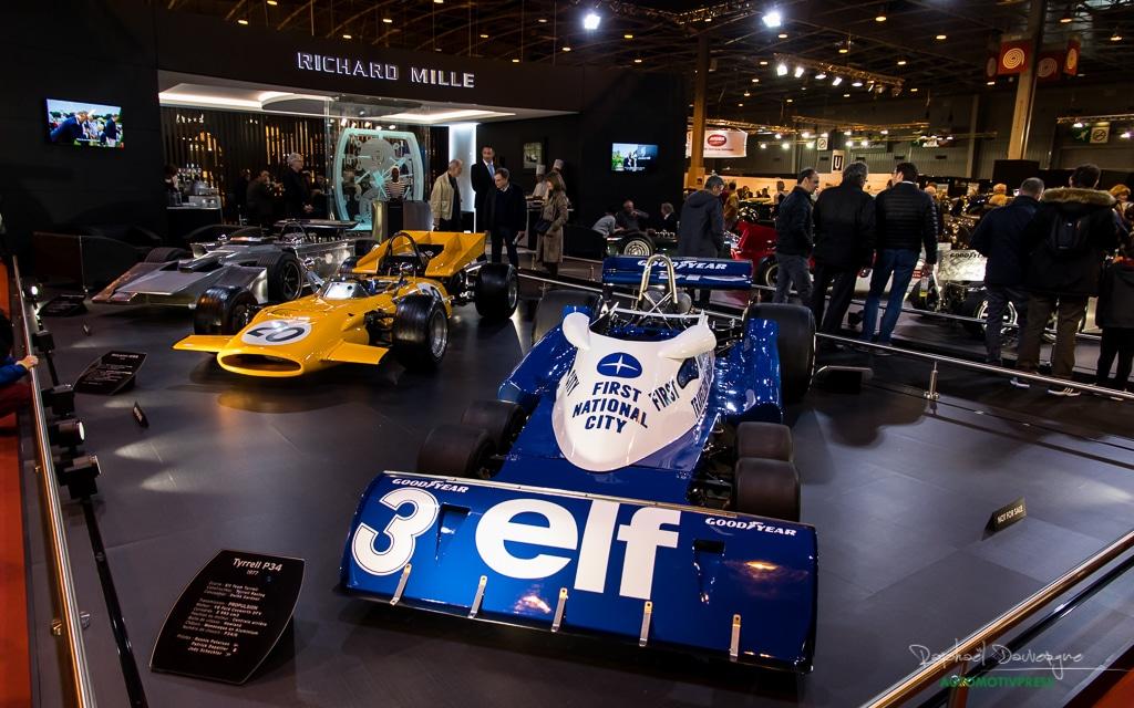 Retromobile 2017 - Richard Mille - Formule 1 atypiques 1964-1977