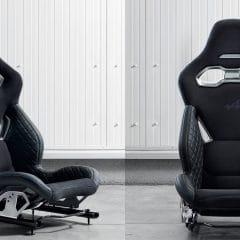 Alpine AS110 : Des sièges baquets légers…