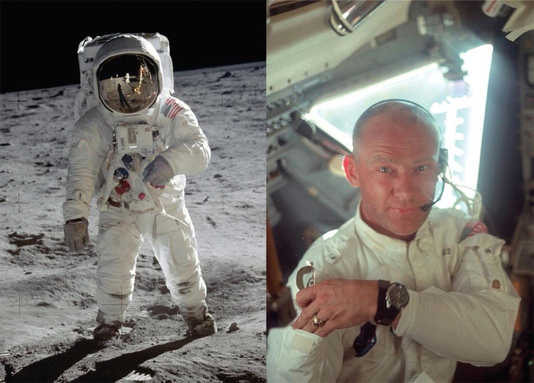 Buzz Aldrin Apollo XI - Omega Speedmaster